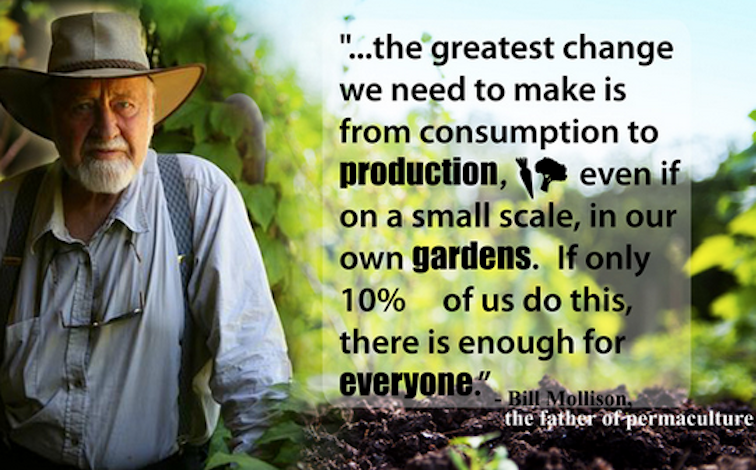 Bill Mollison on Permaculture